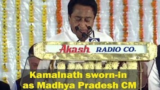 Kamal Nath sworn in as Madhya Pradesh CM