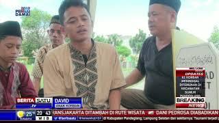Suasana Haru Selimuti Pemakaman Korban Tsunami di TPU Joglo
