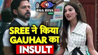 Sreesanth SHOUTS And INSULTS Gauhar Khan During BB Hotel Task?   Bigg Boss 12