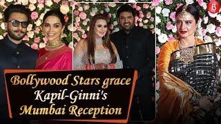 Deepika-Ranveer Rekha & others grace Kapil Sharma and Ginni Chatrath's Mumbai reception!