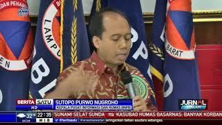BNPB: Korban Tewas Tsunami Selat Sunda Capai 429 Orang