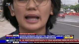 Arus Balik Libur Natal 2018 di Tol Jakarta-Cikampek Ramai Lancar