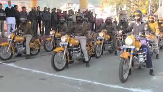 सीएम जयराम ठाकुर के गृहजिला मंडी को 12 नए बुलेट बाईक की सौगात मिली