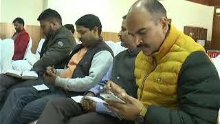 कांग्रेस के प्रवक्ता अभिषेक राणा ने सांसद अनुराग ठाकुर के उस चैलेंज को स्वीकार किया