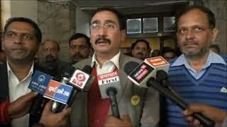 मेडिकल कालेज में स्टाफ की कमी को लेकर हमीरपुर पहुंचे प्रदेश स्वास्थ्य मंत्री विपिन परमार