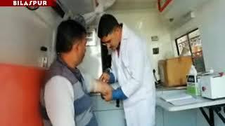 हिमाचल प्रदेश में सांसद  मोबाइल स्वास्थ्य सेवा से ग्रामीण लोगों को स्वास्थ्य सेवाएं प्रदान