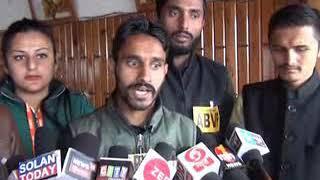 सोलन में ए बी वी पी ने नौणी विश्वविद्यायल के खिलाफ मोर्चा खोला