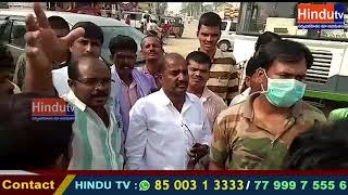 వికారాబాద్ జిల్లా కొడంగల్ మండల కేంద్రంloni అంబేద్కర్ చౌరస్తాలో