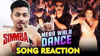 Mera Wala Dance Song REACTION | SIMMBA | Ranveer Singh, Ajay Devgn, Sara Ali Khan