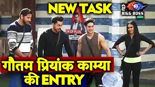 Gautam Gulati Kamya Punjabi Priyank ENTERS With NEW TASK | Bigg Boss 12 Update