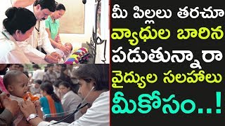 Best Health Tips for Children in Telugu | Baby Food|Health Care|Babies Cold and Cough |Top Telugu TV