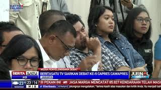 Beritasatu TV Media Penyelenggara Debat Capres Kelima