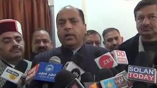 जो नेता अभी चलना सीख रहे है है वह  अपनी वाणी पर रखें नियन्त्रण कहा  मुख्यमंत्री जय राम ठाकुर