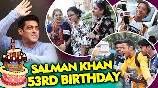 Fans Wishing Salman Khan On His 53rd Birthday   GOD BLESS Bhaijaan