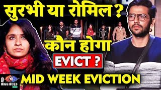 MID WEEK EVICTION    SURBHI Or ROMIL   Who Will Be ELIMINATED?   Bigg Boss 12