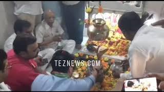 ओंकारेश्वर में ज्योतिरादित्य सिंधिया, कांग्रेस की परिवर्तन रैली खंडवा, बुरहानपुर में