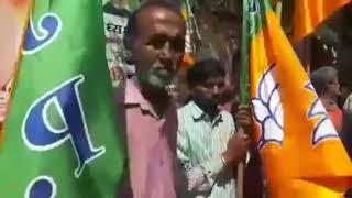 अमित शाह की रैली के लिए नेता लाये थे किराये से मजदूर   Amit Shah Rally   BJP News