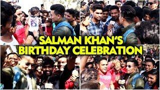 UNCUT - Salman Khans 53rd Birthday   FAN CRAZE Outside Galaxy Apartment