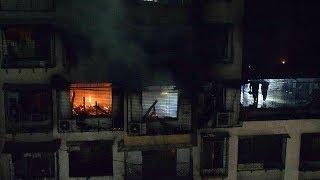 Mumbai: 7 killed as massive fire breaks out at 15 storey-building in Chembur