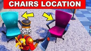 Destroy Wooden Chaairs Location Week 4 Challenges Fortnite