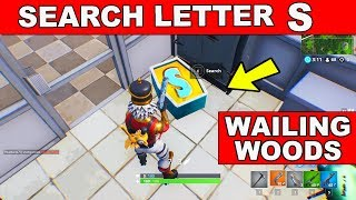 Search the letter 'M' in Dusty Divot Location Week 4 Challenges