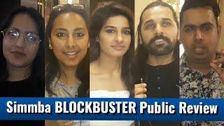 Simmba Movie - Public Review - First Show - Ranveer Singh, Sara Ali Khan, Ajay Devgn & Rohit Shetty