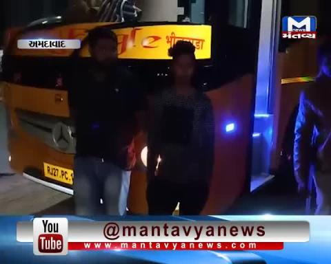Ahmedabad: Police caught Liquor from a Bus during checking