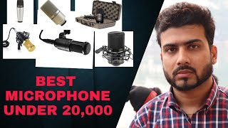 STARTUP MICROPHONE UNDER 20K BUDGET (AMAZON)
