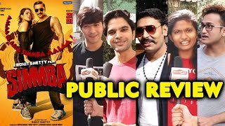 SIMMBA PUBLIC REVIEW | First Day First Show | Ranveer Singh, Ajay Devgn, Sara Ali Khan