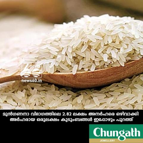 civil supplies department investigate who did not take ration rice in december