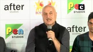 The most difficult part was to mimic Dr Manmohan's voice: Anupam Kher