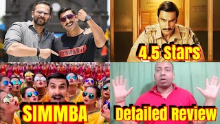 Simmba Movie Detailed Review l Not Full Remake Of Temper