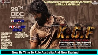 #KGF Massive Release In Australia And New Zealand From Today Dec 29