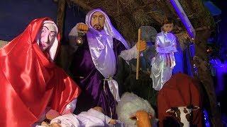 Watch This Amazing Mechanized Christmas Crib At Campal Panjim