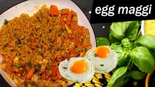 egg maggi recipe in telugu I egg recipes I Tasty Tej Rectvindia