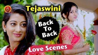 Tejaswini Prakash Back To Back Scenes - Best Love Scenes Telugu - Nandu - Kannullo Nee Roopame
