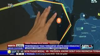 Penerbangan di Soekarno-Hatta Belum Terdampak Erupsi Anak Krakatau