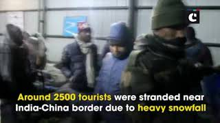 Indian Army rescues 2500 tourists stranded near India-China border in Sikkim