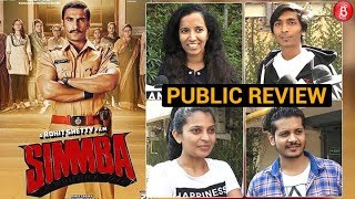 SIMMBA Second Day Public Review | Ranveer Singh  Sara Ali Khan