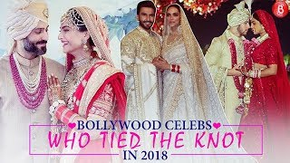 Bollywood Celebrities Who Tied The Knot In 2018
