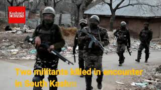 Pulwama Encounter two Jaish E Mohammed militants killed