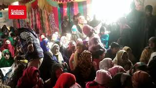 Three days blanket distribution for orphans concludes today at ompura Budgam,