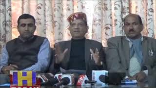 DHARMSHALA FOOD AND SUPPLY MINISTER ATTACK ON CONGRESS