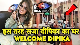 Dipika Kakar SPECIAL WELCOME With This Wonderful Decoration | Bigg Boss 12 Winner