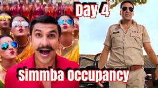 Simmba Movie Audience Occupancy Day 4 Morning Shows