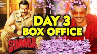 SIMMBA | 3RD DAY COLLECTION | Box Office | Ranveer Singh, Sara Ali Khan