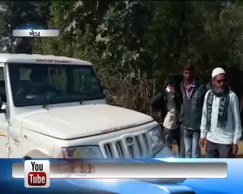 Kheda: A man injured in attack of Leopard