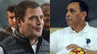 Rahul Gandhi desperate to see Gujarat fail says CM Vijay Rupani