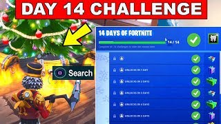 Day 14 REWARD - Search Chests - 14 Days of Fortnite Challenges for FREE Rewards