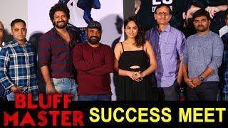 Bluff Master Movie Success Meet   Gopi Ganesh   Satya Dev   Nandita Swetha